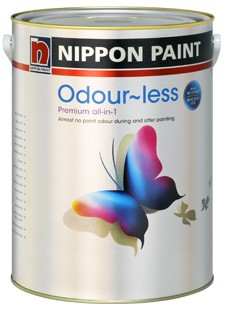 Nippon Paint Odour-less premium all in 1