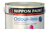 Nippon Paint <br />Odour-less premium all in 1
