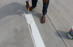 Seletar Heights Helipad Painting