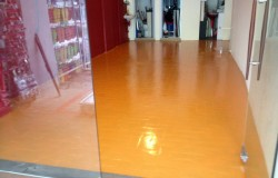 Epoxy Painting on floor tiles AMK