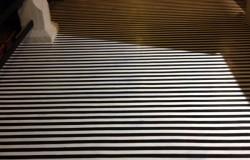 Black White Stripes Dempsey