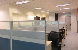Office Renovation with supply of System Furnitures Space Planning