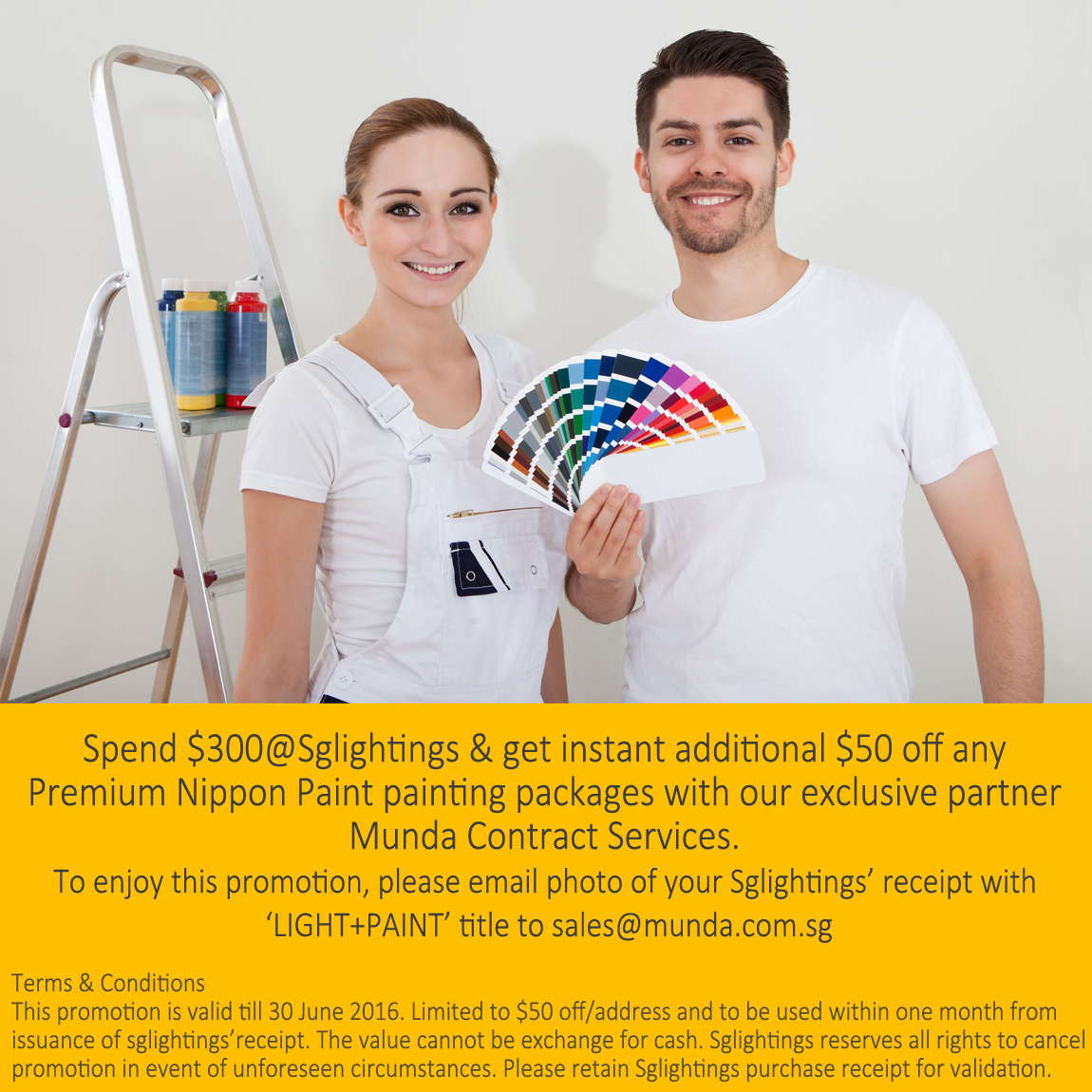 SgLightings and Munda Contract Services Promotion